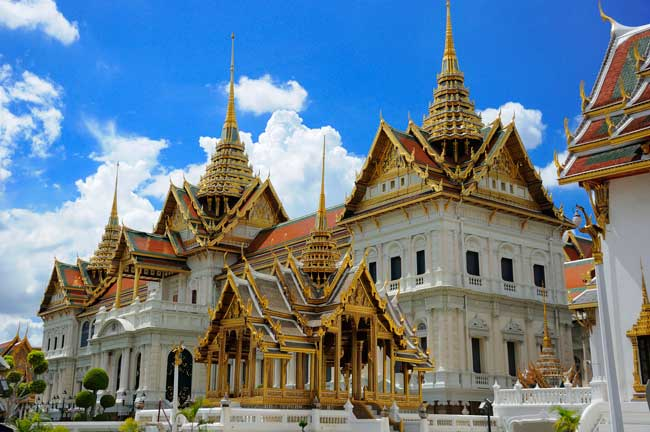 The Grand Palace is an astonishing not-to-miss site in Bangkok.
